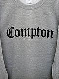 COMPTON  CREW NECK(GRY)