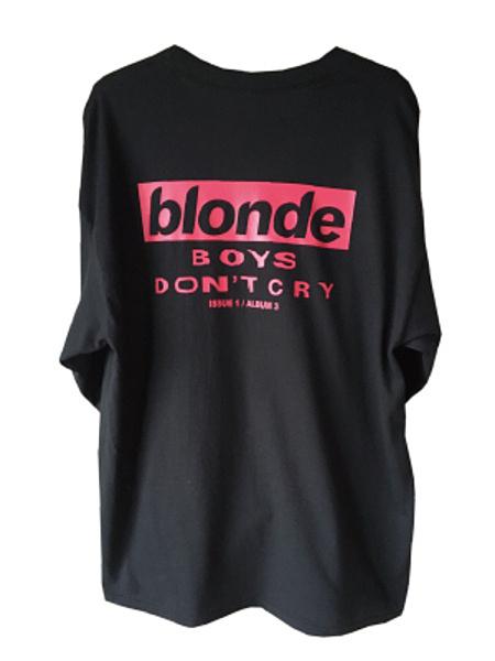 BLONDE L/S TEE (BLACK)