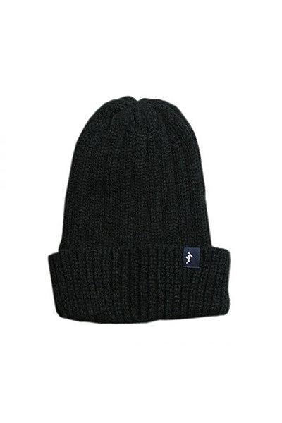 Anga BASIC KNIT CAP(BLACK)