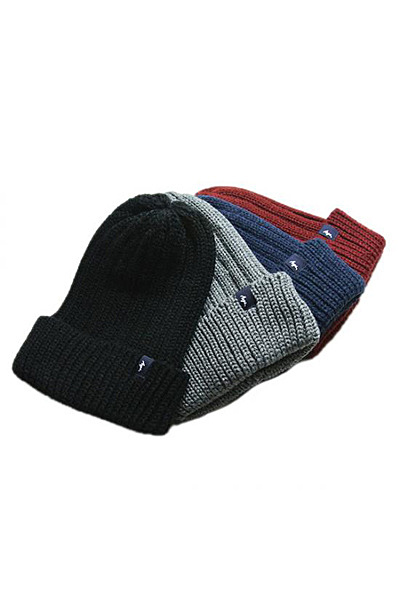 Anga BASIC KNIT CAP(NAVY)