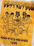 "DESTROY DOG ""S.S.S.T"" S/S TEE WHT"
