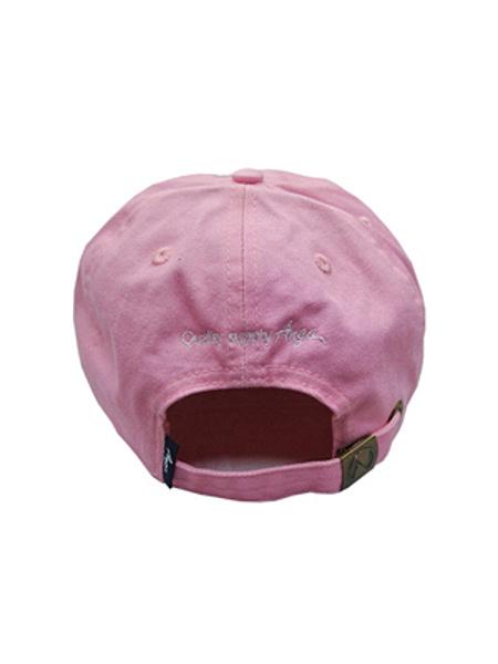 EMB LOGO 6PANEL CAP (BLK)