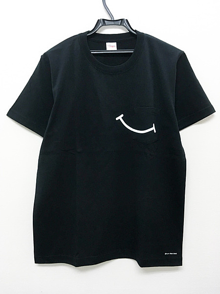 "WEBSITE RENEWAL ANNIVERSARY ""SMILE"" T-SHIRTS (BLACK)"