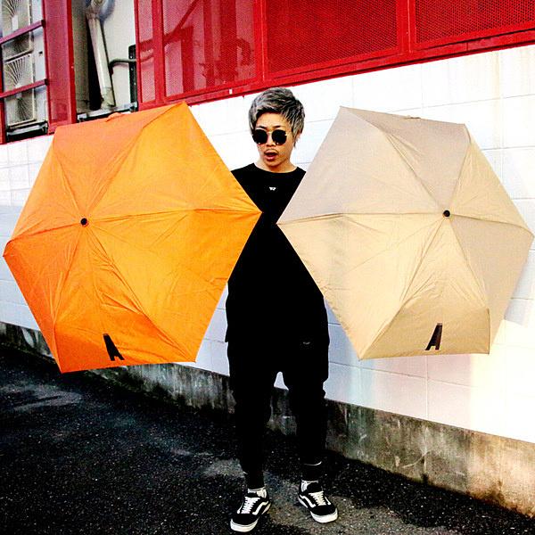 """APOLLO """" Ai Ai """" folding umbrella /  ORANGE"""