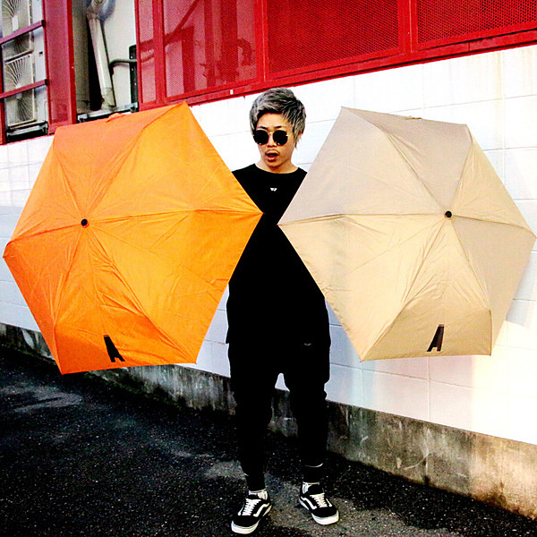 "APOLLO  "" Ai Ai "" folding umbrella /  BEIGE"