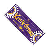 "KENTY GROSS "" PURPLE "" TOWEL"