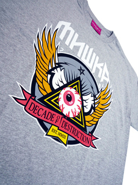 10 YEAR KEEP WATCH CREST TEE