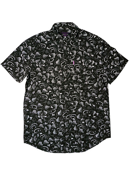 ANIMAL PARADE BUTTON UP STORMY